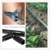 Inlaid Round Emitter Water Saving Drip Irrigation Pipe Equipment