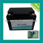 2 year Warranty 12v80Ah LiFePO4 Boat Motor Battery Pack with BMS Protection