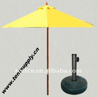 2.1M Wooden Market Umbrella