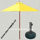 2.1M Wooden Market Umbrella