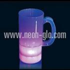 20oz Multi Neon Look Beer Mug (White Plastic)