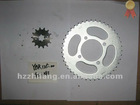 YBR125 Motorcycle Chain Sprocket 43T+14T