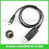Two way radio accessories programming cable for Yaesu transceiver FT-100 FT-857
