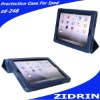 Leather bluetooth case for ipad keyboard case