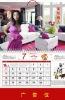 2012 Wall/Table Calendar, 3D lenticular printing with custom design