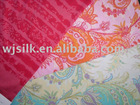 silk cotton jersey printed