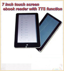 Touch Ebook Reader with TTS Function (ER788)