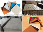 wood grain decorative laminated MDF board