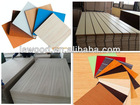 wood grain decorative laminated MDF board