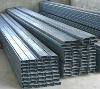 galvanized Steel channel/C channel/Channel/Profile