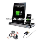 Multi-Functional Charger + Speaker Dock for The New iPad 3 2 iPhone 3GS 4 4S iPod