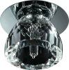 G4 lampholder, low voltage K9 crystal downlighter