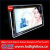 Super led crystal slim light box