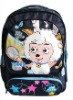 the carton picture of school bag