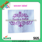 Cheap woven main label for garment