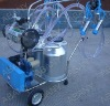 Protable cow milking machine