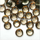 chinese hot fix rhinestone--smoked topaz