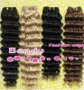 100% human wave hair extension