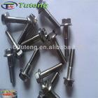 DIN 6921 M6 Gr5 titanium flange bolt