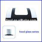 tempered kitchen hood glass