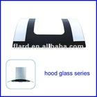 tempered kitchen hood glass