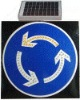 DC12V led solar traffic light sign