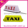 Taxi light box roof sign new magnet or pull hook type slim led taxi roof signs