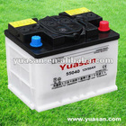 Greatest 12V50AH 55040 Dry Acid DIN Car Battery