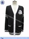 Men's 100% cotton button down custom cardigan sweater