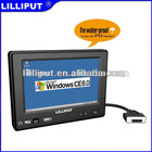 "Lilliput 7"" Mobile Data Terminal With IP64 for Taxi Dispatch"