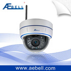 3G Mobile Survillance Wireless COMS H.264 IR Infrared Dome IP Camera