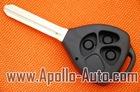 TOY43 3 Button Remote Key Shell for Toyota RAV4