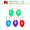 Hot Selling Low price Plastic Promotional Lottery scratcher keychain