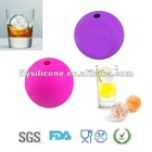 OEM silicone ice cube tray ball shape, ice maker , ice holder for bar
