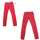 women colorful skinny long pants