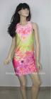 Floral Print Fashion Dress For Women hsm100