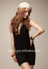FY3603 lady autumn knitting jumpsuit with hood