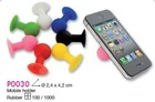 silicone mobile holder