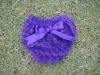 Rosette baby diaper cover