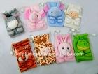 Animal style plush phone bags