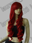 "32"" Fashion Women's Long Wigs Wavy Curly Cosplay Wig Party Hair Red"