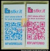 QR code printing with website