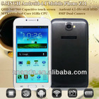 MTk6577 Android 4.1 China Mobile Phone Galaxy Note 2 Z11