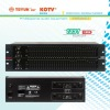 KOTV 1231 professional dual 31 band graphic equalizer