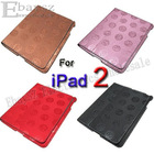 1pcs leather cover for ipad 2Protective Chinese Dragon PU Leather Cover Case for Apple iPad 2 IP-481-2