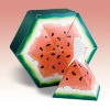 Cardboard Tissue Box with Lovely Water Melon Design