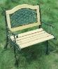 Single Lattice Design Garden Bench