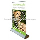 fashion aluminum mini roll up banner display A3/A4