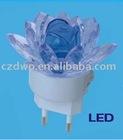 4 led lotus flower Rechargeable led work light