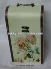 floral wooden gift box, wooden wine box, wooden jewelry box various designs